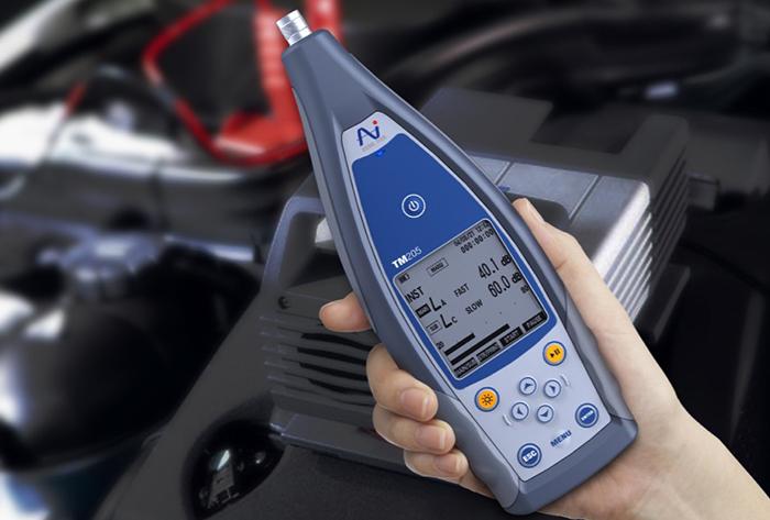 噪声检测仪产品设计,为用户带来全新操作体验