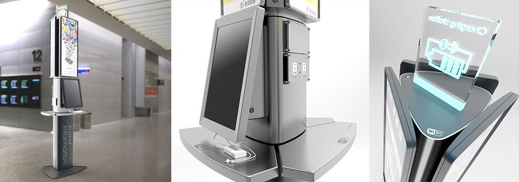 广告机设计,为每天一亿乘机旅客而设计